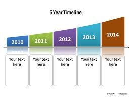 Year Timeline Powerpoint Timelines For Subscribers Page 4 Growth Concept