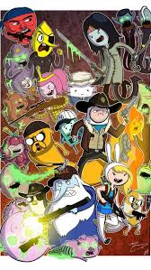 adventure time poster 2 wallpaper