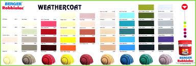 Clean Berger Color Chart Asian Paint Colour Chart Home