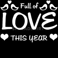 Voller Liebe Dieses Jahr Verliebt Glücklich Schürze Spreadshirt