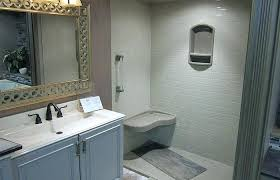 bathroom remodel medium size shower replacement company installer onyx collection tub bathtub tile walls kits moen