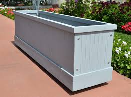 large rectangular planter box  gardens and landscapings decoration