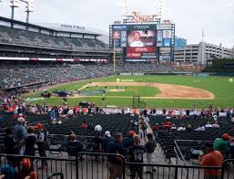 Detroit Tigers Seating Chart With Rows Comerica Park Section 122 Seat Views Seatgeek