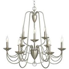 prissy design sputnik light swippe 9 brushed nickel chandelier at com lighting new york bowery lamp floor lowe s