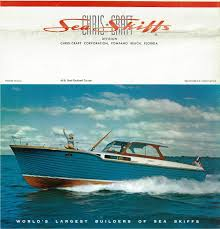 chris craft cruiser classic boats woody boater packed features and rarin to go the classic 1957 40′ chris craft sea skiff