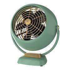 amazoncom vornado vfan jr vintage air circulator green home kitchen ben office fan