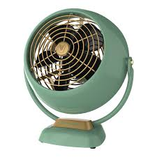 com vornado vfan jr vintage air circulator fan green home kitchen