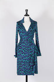 Diane Von Furstenberg Jeanne Colourful Wrap Dress