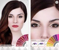 virtual makeover for makeup and skin treatment this app is free