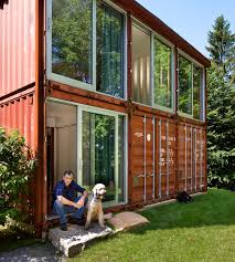 EcoFriendly House Made From Two Shipping ContainersContainer Shipping House
