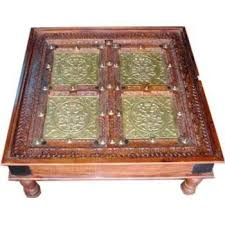 indian carved dining table. dining room furniture, wooden table, carved jodhpur india indian table