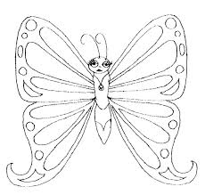 Small Picture FREE Butterfly Coloring Pages Lovely Lady Butterfly