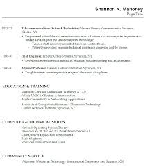 Examples Of Good Resumes For High School Students Best Resume