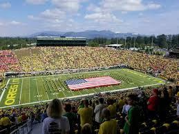 Autzen Stadium Seating Chart View Autzen Stadium Section 34pr Row 77 Seat 23 Oregon Ducks