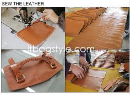 how to make a real leather handbags by handcraft