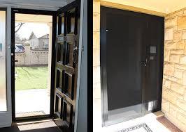 security screen door. Amplimesh-Security-Door-1. \u201c Security Screen Door S