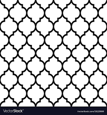 Tiles Design Moroccan Tiles Design Seamless Black Pattern