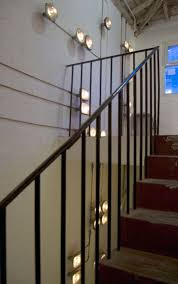 lighting for stairs. PSLAB, The Beirut Based Team Of 40 Architects, Designers, Engineers And Technicians Dedicated To Light, Applied Its Customized Approach Create A Lighting For Stairs