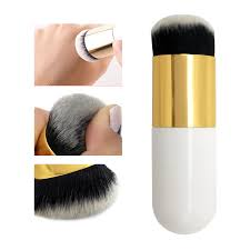 Hot Sale <b>Chubby Pier Foundation</b> Brush Flat Cream Makeup ...