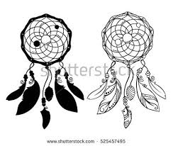 Native Dream Catchers Drawings Native Shaman Vector Download Free Vector Art Stock Graphics 72