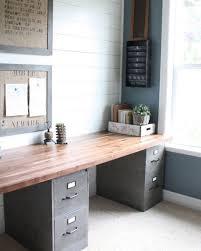 diy office table. Ideia Para O Office Usando Arquivos De Metal Como Base Da Mesa. #upcycle Pinterest Diy Table