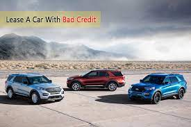 can you lease a car with bad credit and