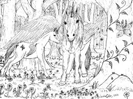Small Picture hard coloring pages of unicorns Hard Coloring Pages