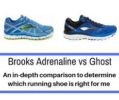 Brooks Adrenaline Vs Ghost A Detailed Comparison Train