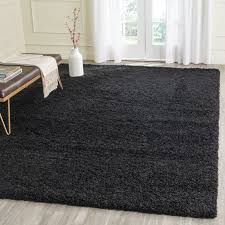wonderful picturesque black fuzzy rug rugs inspiring throughout black area rug modern