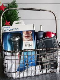 Make this DIY Bath & Body Gift Basket for Men this Christmas for the guy who