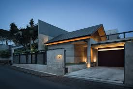 lighting a house. Hikari House, Designed By Pranala Associates, Is A Residential Project Located In Bandung, Indonesia. House Where People Spend Most Of Their Lives, Lighting