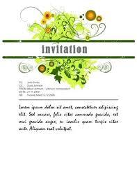 invitation card templates free download corporate invitation template puebladigital net