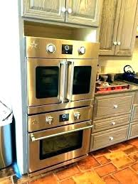 side swing wall oven viking french door best ovens for reviews intended set time