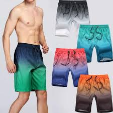 <b>VERTVIE 2019 Summer</b> Men Breathable Beach Shorts Men Quick ...