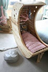 cozy kids furniture. 31 Useful And Most Popular DIY Ideas, Moon Shaped Baby Cradle Made Out Of Palettes. If Will I Ever Have Kids, We Raise Them The Unloader Way - In A Cozy Kids Furniture
