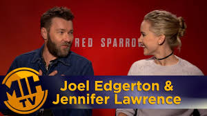 Red Sparrow Joel Edgerton & Jennifer Lawrence Interview - YouTube