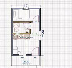 micro house floor plans 12x20 gypsy rose floor plan tiny house with regard to 12x20