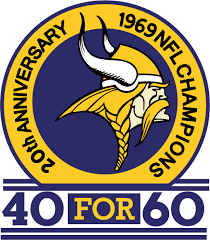 Minnesota Vikings Anniversary Logo - National Football League (NFL ...