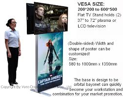 Multiple Poster Display Stands Products Vono Display 99