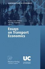 essays on transport economics springerlink