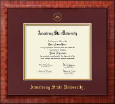 armstrong state university diploma frame mezzo gloss w asu seal  image of armstrong state university diploma frame mezzo gloss w embossed asu seal