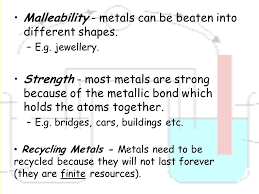 malleability chemistry. 6 malleability - metals chemistry