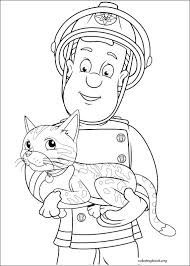 Small Picture Fireman Sam Penny Colouring Pages Download Coloring Fire Museum
