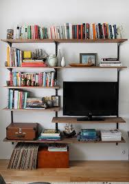 mounted shelving open up your space
