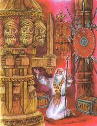 Религия верования древних славян Религии Мира Портал о  Жречество и жертвоприношения древних славян