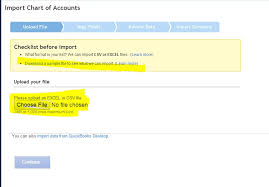 Import Chart Of Accounts From Excel To Quickbooks Desktop How To Import Chart Of Accounts In New Quickbooks Online