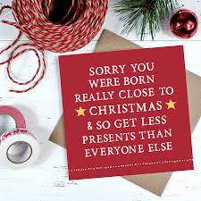 Photo Christmas Card Close To Christmas Birthday Card By Zoe Brennan