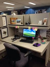 cubicle decoration ideas office. Diy Cubicle Decor With Computer And Black Office Chair Shelf Decoration Ideas O