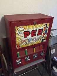Pez Vending Machine For Sale Delectable Pez Vending Machine Dispenser No Feet Ok It Does Have Feet