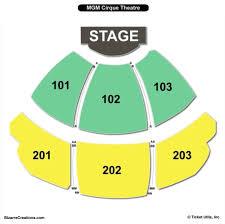 ka theatre at mgm grand hotel seating chart